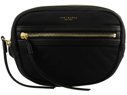 Tory Burch PERRY Casual Style Nylon Vanity Bags Plain Party Style