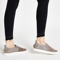 River Island Casual Style Faux Fur Shoes