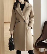 Plain Medium Office Style Chester Coats