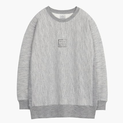 Pullovers Sweat Collaboration Long Sleeves Cotton Logo