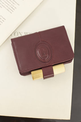 Leather Bold Small Wallet Coin Cases