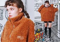 WV PROJECT Unisex Street Style Cotton Oversized Tops