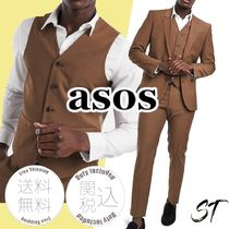 ASOS Blended Fabrics Co-ord Front Button Suits