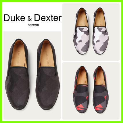 Camouflage Loafers Leather Loafers & Slip-ons