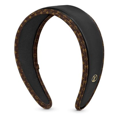Louis Vuitton MONOGRAM Leather Headband