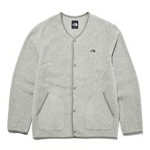 THE NORTH FACE Unisex Street Style Plain Logo Outdoor Cardigans