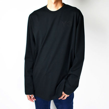 Crew Neck Unisex Street Style Long Sleeves Short Sleeves