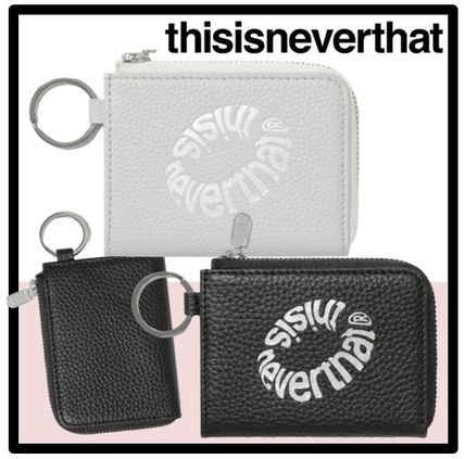 thisisneverthat Unisex Street Style Card Holders