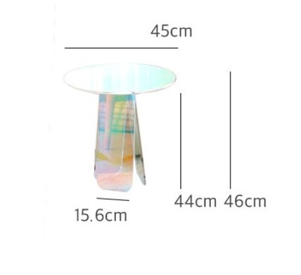 Unisex Clear Furniture Night Stands Table & Chair