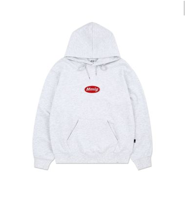 87MM Hoodies Unisex Street Style Long Sleeves Plain Logo Hoodies 4