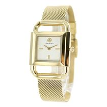 Tory Burch Casual Style Square Party Style Quartz Watches Office Style