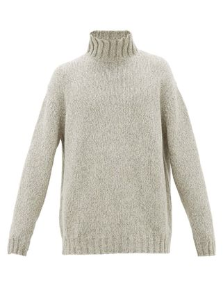 Pullovers Wool Cashmere Long Sleeves Plain Sweaters