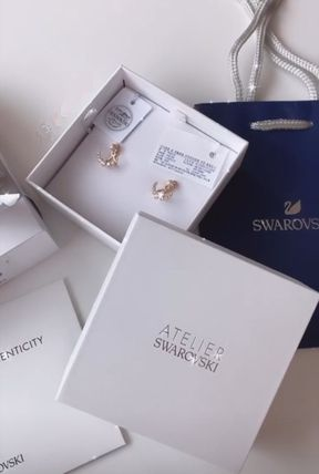 SWAROVSKI Star Casual Style Party Style Office Style Elegant Style