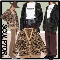 SCULPTOR Casual Style Street Style Cardigans