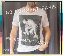 NO COMMENT PARIS Sweatshirts Unisex Street Style Long Sleeves Logo Sweatshirts 9