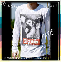 NO COMMENT PARIS Sweatshirts Unisex Street Style Long Sleeves Logo Sweatshirts 12