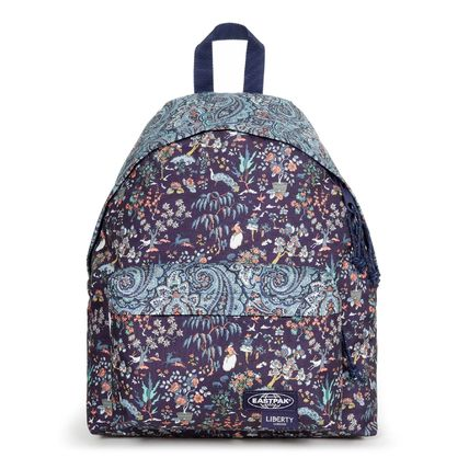 Flower Patterns Casual Style Collaboration A4 Logo Backpacks