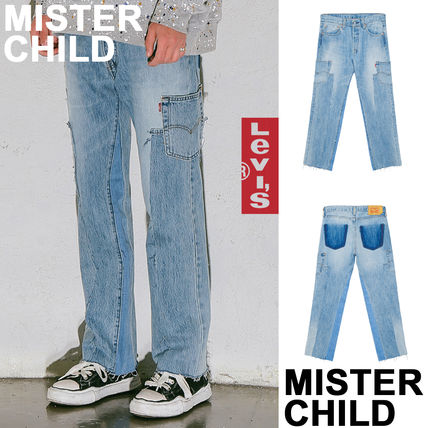 MISTER CHILD More Jeans Unisex Denim Collaboration Jeans
