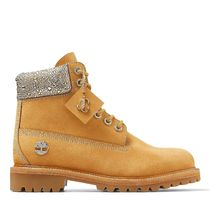 Jimmy Choo Mountain Boots Collaboration Leather With Jewels Logo