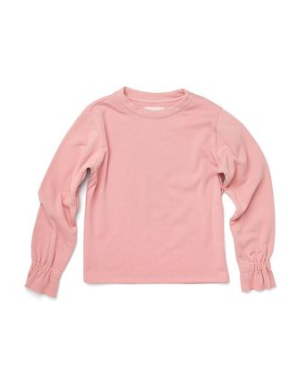 Logo Crew Neck Sweat Blended Fabrics U-Neck Long Sleeves