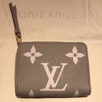 Louis Vuitton ZIPPY COIN PURSE Leather Long Wallet  Logo Coin Cases