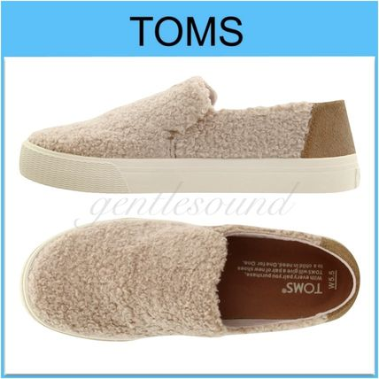 Casual Style Plain Office Style Slip-On Shoes