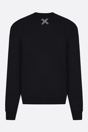 KENZO Sweatshirts Crew Neck Sweat Long Sleeves Plain Cotton Logo Designers 3