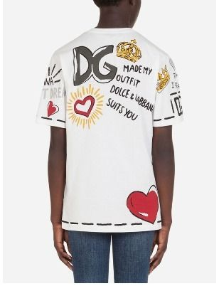 Dolce & Gabbana Short Sleeves Logo T-Shirts