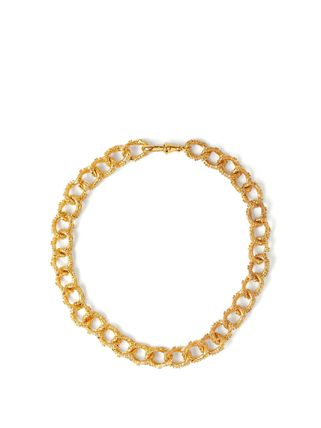 《ALIGHIERI》The Unreal City 24kt gold-plated choker