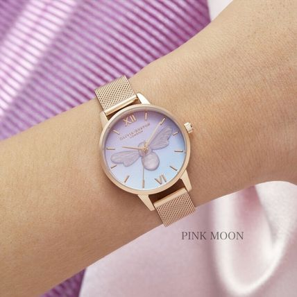 Casual Style Street Style Round Party Style Quartz Watches