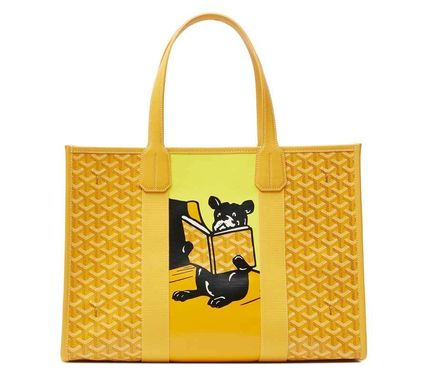 *THE VILLETTE TOTE*French bulldog*Goyard*