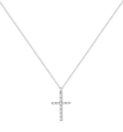 Casual Style Cross Silver Necklaces & Pendants