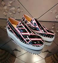 Christian Louboutin PIK BOAT Studded Street Style Sneakers