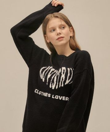 Casual Style Street Style Long Sleeves Logo