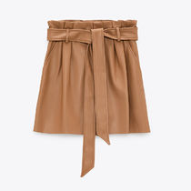 ZARA Casual Style Party Style Office Style Elegant Style Shorts
