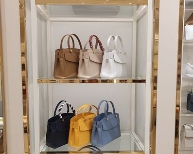 Casual Style Saffiano 2WAY Plain Office Style Elegant Style
