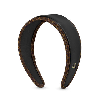 Louis Vuitton Leather Headband