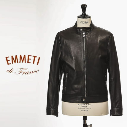 Short Leather Biker Jackets