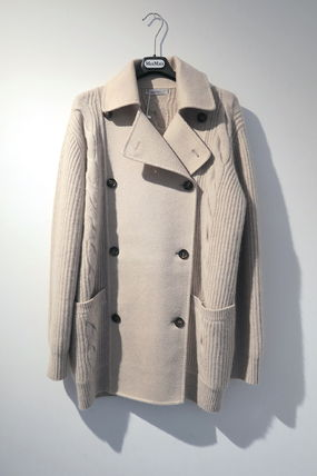 MaxMara Wool Cashmere Medium Peacoats