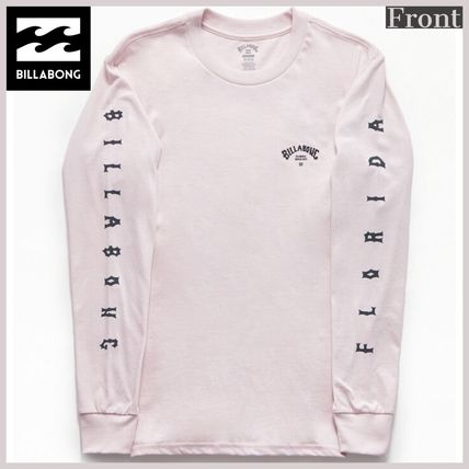 Street Style Long Sleeves Cotton Logos on the Sleeves