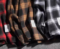 Shirts Other Plaid Patterns Street Style Long Sleeves Oversized 8