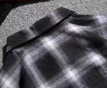 Shirts Other Plaid Patterns Street Style Long Sleeves Oversized 14