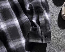 Shirts Other Plaid Patterns Street Style Long Sleeves Oversized 15