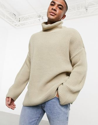 ASOS Sweaters Pullovers Street Style Long Sleeves Plain Oversized Sweaters 6