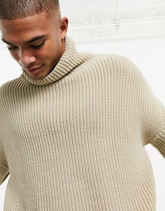ASOS Sweaters Pullovers Street Style Long Sleeves Plain Oversized Sweaters 7