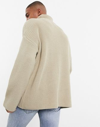 ASOS Sweaters Pullovers Street Style Long Sleeves Plain Oversized Sweaters 8