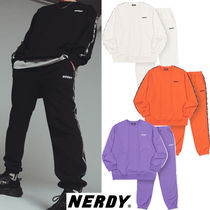 NERDY Unisex Street Style Two-Piece Sets