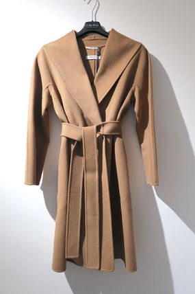 S Max Mara MESSI Wool Medium Coats