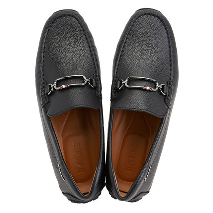Leather Logo Oxfords