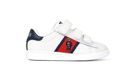 POLO RALPH LAUREN Unisex Street Style Kids Girl Sneakers
